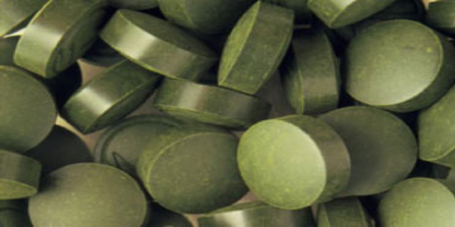 image of Spirulina tablets