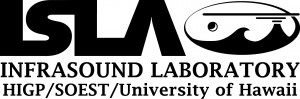 Infrasound Laboratory University of Hawaii Logo