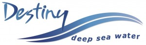 Destiny Deep Sea Water Logo