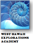 West Hawaii Explorations Academy Logo