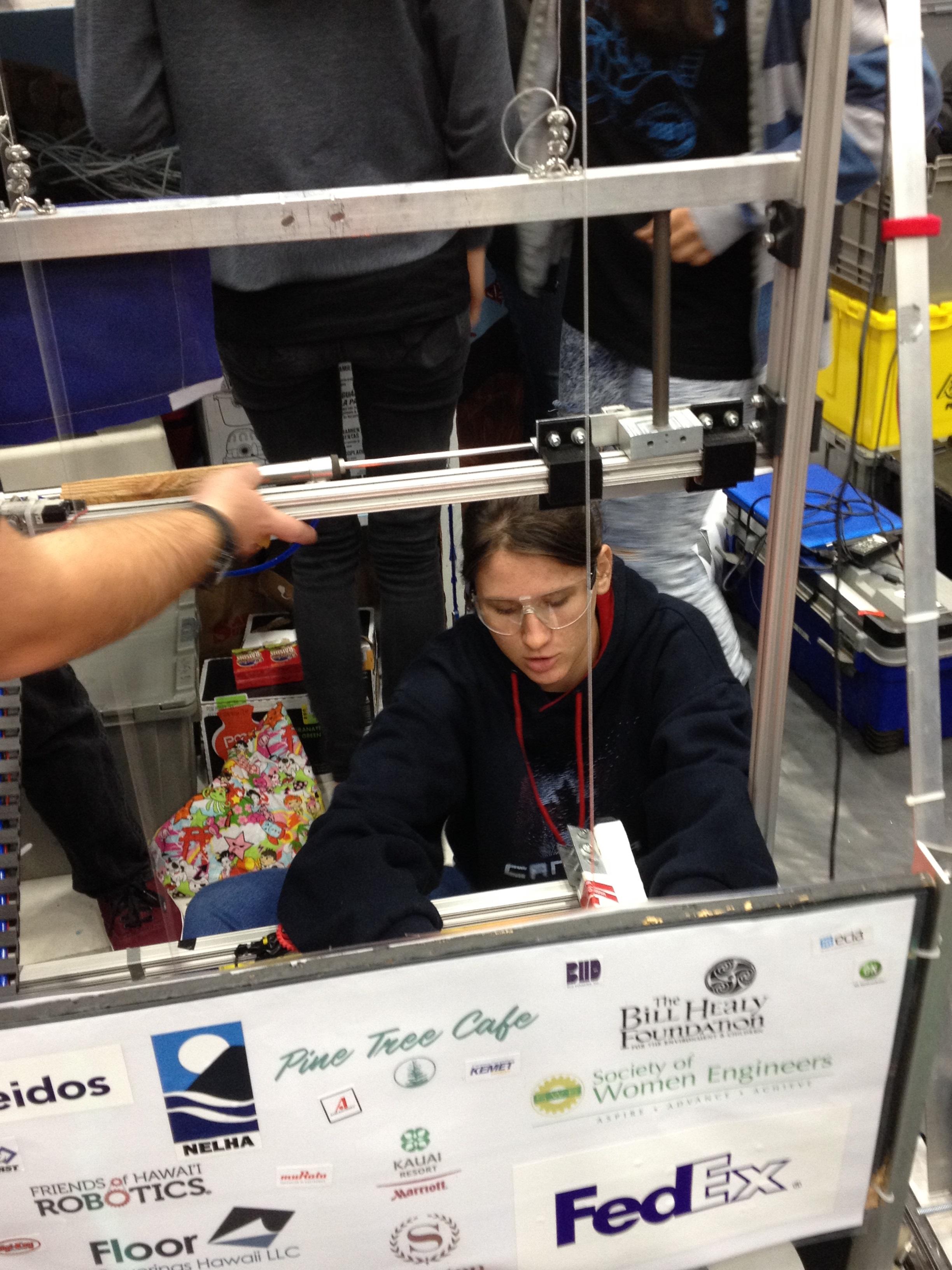 WHEA Robot Contest 2015