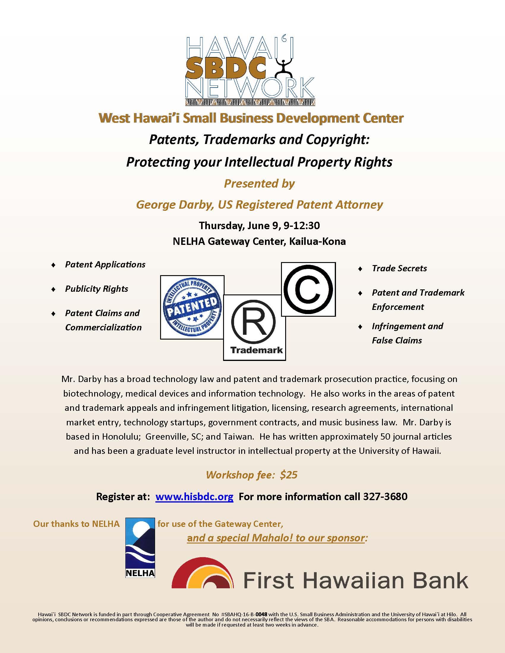 Workshop Patents 6 9 16