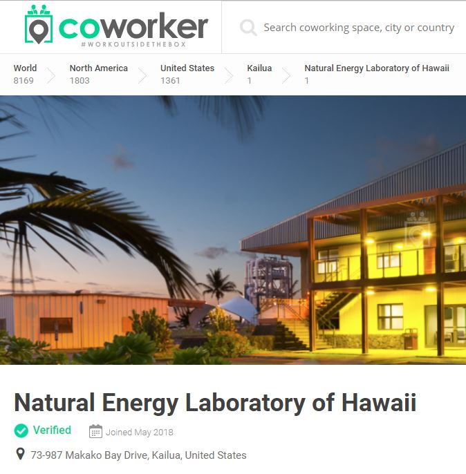 CoWorker Hawaii - Hale Iako Building Photo