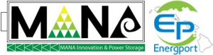 Mana Innovation and Power Storage Logo